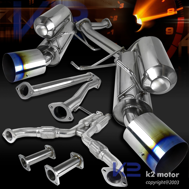 Click To Enlarge: G35 Coupe Catback Exhaust At Woreks.co