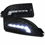 LED Day Time Running Fog Light Cover Kit