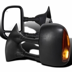 LED Powered Towing Mirror with Heat Function