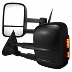 Manual Towing Mirrors with LED Turn Signals