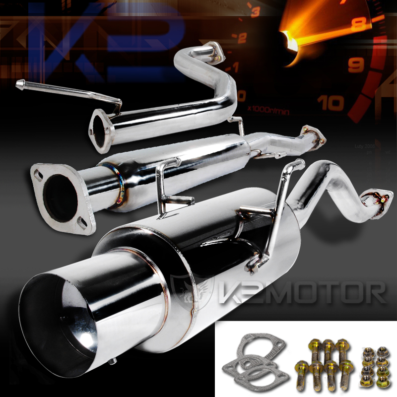 Acura Integra GsRs DR Coupe NStyle Catback Muffler Exhaust - 1994 acura integra exhaust system
