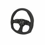 Nrg Steering Wheel D-Style With Real Leather (Universal)