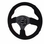 Nrg Steering Wheel Jet Style With Suede Leather (Universal)