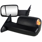 OE Type Towing Mirrors with LED Turn Signals + Puddle Lights (Power)