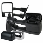 Power Towing Mirrors (Black/Chrome)