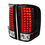 Red/Black Euro LED Tail Lights