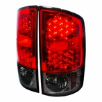 Red/Clear Euro LED Tail Lights