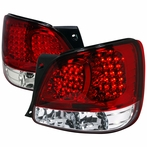 Red/Clear LED Altezza Tail Lights