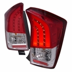 Red/Clear LED Tail Light