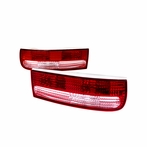 Red/ Clear Tail Lights