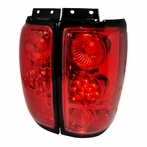 Red Euro LED Altezza Tail Lights