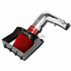 Red Filter Cold Air Intake System + Heat Shield