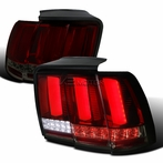Red/Smoke Sequential LED Tail Lights