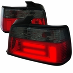 Red/Smoked 3D LED Tail Lights