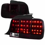 Red/Smoked LED Sequential Tail Lights