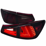 Red/Smoked LED Tail + Trunk Lights (4PCS)