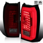 Red/Smoked Lens LED Tail Lights
