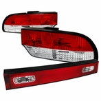 Red Trunk Tail Lights