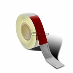 Red/White Reflective Safety Conspicuity Tape