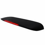 Roof Spoiler with Smoked LED Brake Light (Black)