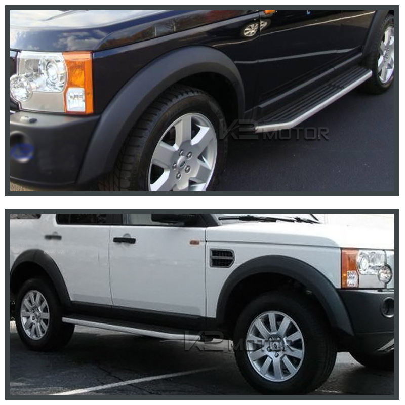 2005-2009 Land Rover Discovery Side Step Running Board Kit