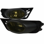 Smoke OEM Style Fog Lights with Relay & Switch