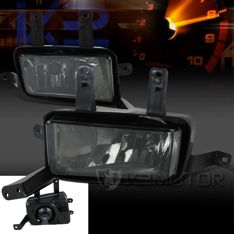 smoked fog lights kit 33 2015 2016 chevy tahoe suburban smoked fog lights kit with switch Ford Fog Light Wiring Harness at edmiracle.co