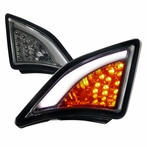 Smoked LED 3D DRL Corner Lights