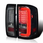Smoked LED Bar Tail Lights