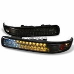 Smoked LED Bumper Signal Lights