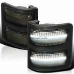 Smoked LED Side Mirror Lights