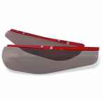 Smoked Side Mirror Visor (2PC)
