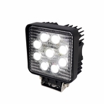 Square 9 LED Work Fog Lights
