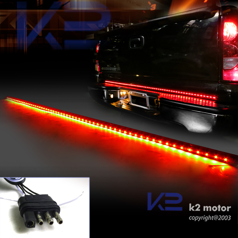 60 Quot Tailgate Led Light Bar Signal Brake Lights