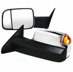 Towing Mirrors - Power (Chrome)