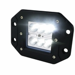 Universal 6-LED Flush Mount Work Light