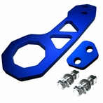 Universal Billet Style Aluminum Rear Tow Hook (Blue)