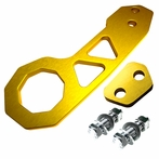 Universal Billet Style Aluminum Rear Tow Hook (Gold)
