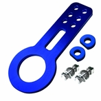 Universal JDM Style Aluminum Front Tow Hook (Blue)