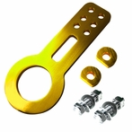 Universal JDM Style Aluminum Front Tow Hook (Gold)