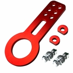 Universal JDM Style Aluminum Front Tow Hook (Red)
