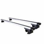 Universal Pair of Aluminum Roof Rack Bars - 48 inch