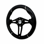 Universal Technic Style Steering Wheel 320Mm (Black)
