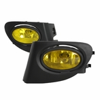 Yellow JDM Style Fog Lights Kit