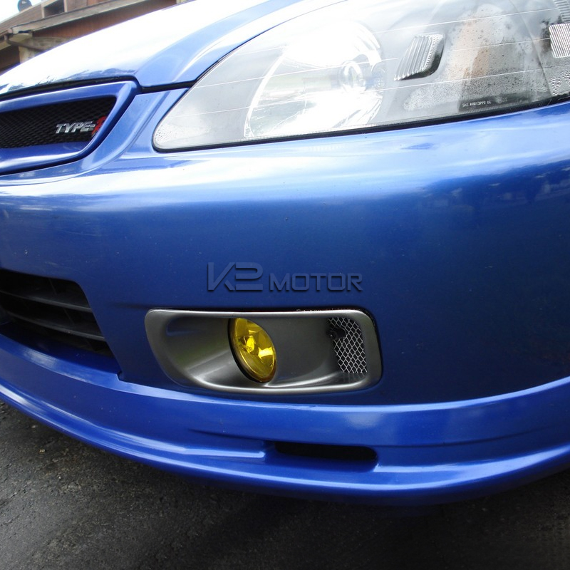 Yellow JDM Style Fog Lights Kit   Inset 3