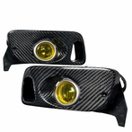 Yellow OEM Style Carbon Fog Lights