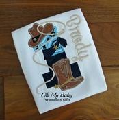 Cowboy Birthday Shirt