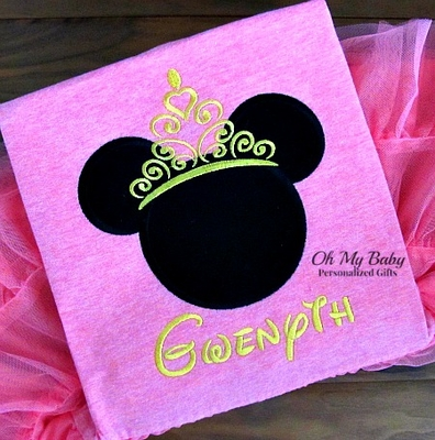 Girl Mouse Crown