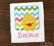Personalized Easter Chick in Box