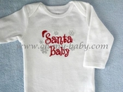Personalized Santa Baby